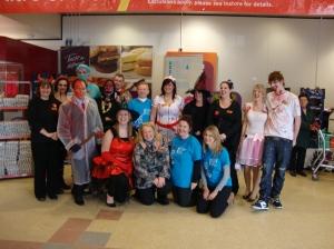 Halloween at Sainsbury's